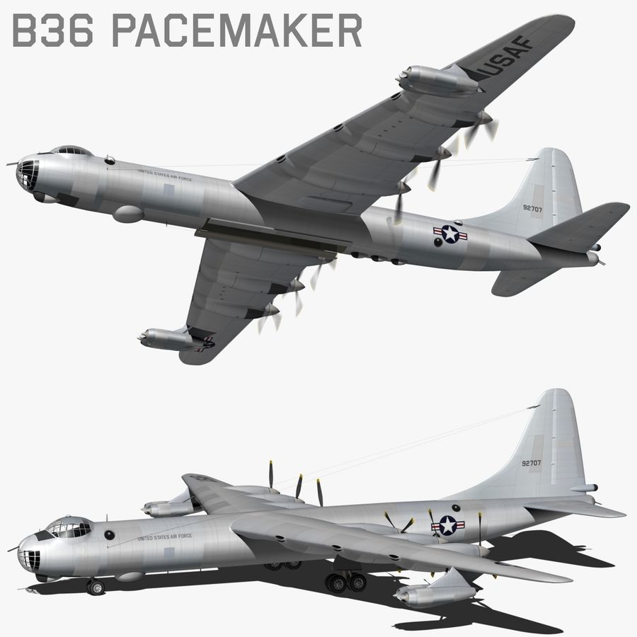 B36 Pacemaker royalty-free 3d model - Preview no. 1