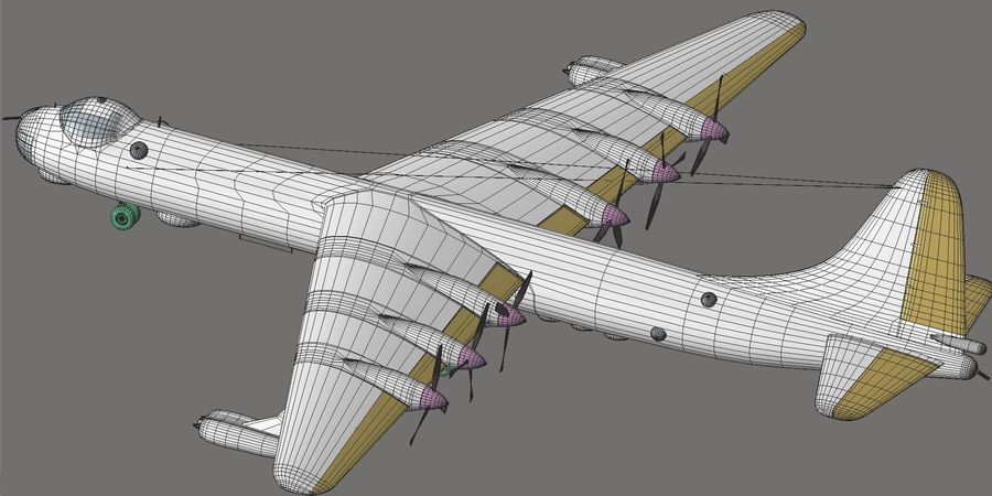 B36 Pacemaker royalty-free 3d model - Preview no. 18