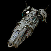 Ruimteschip 3d model