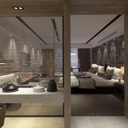 Современная гостиница Люкс 3d model