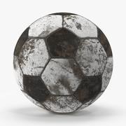 Smutsig fotboll 3d model