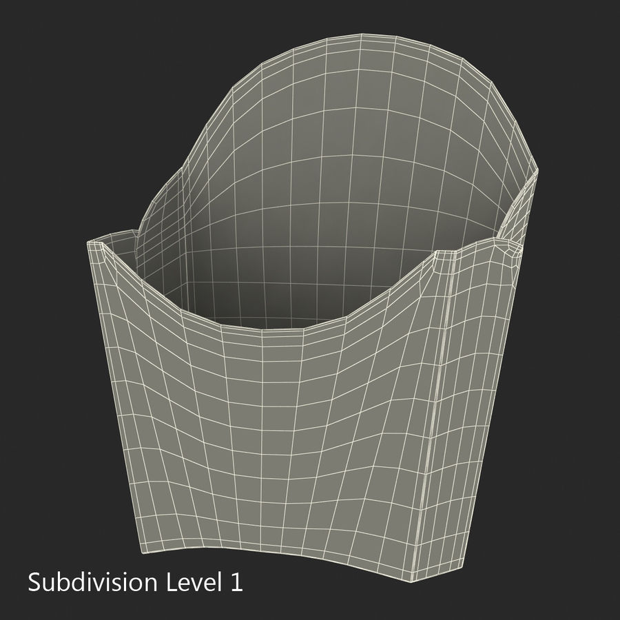 Food Containers Collection royalty-free 3d model - Preview no. 41
