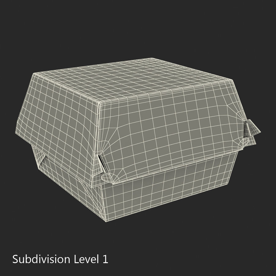 Food Containers Collection royalty-free 3d model - Preview no. 35