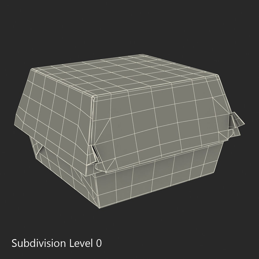 Food Containers Collection royalty-free 3d model - Preview no. 34
