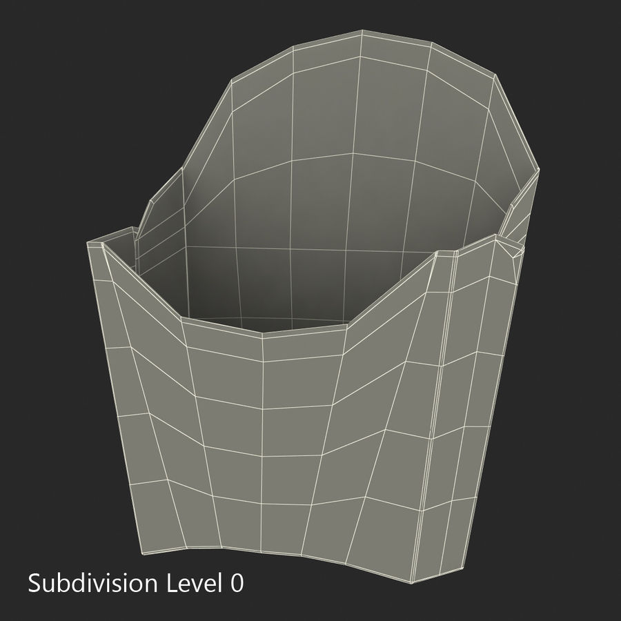 Food Containers Collection royalty-free 3d model - Preview no. 40