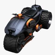Мотор Концепция 3d model