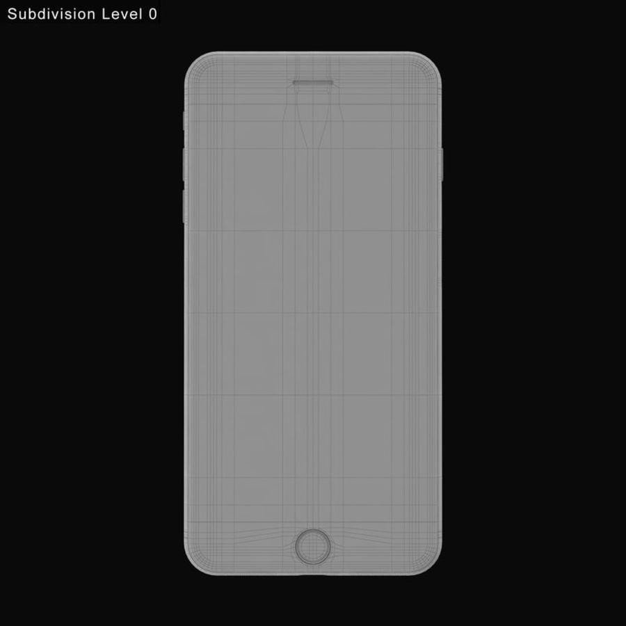Colección Apple iPhone 7 y 7 Plus All Colors royalty-free modelo 3d - Preview no. 36