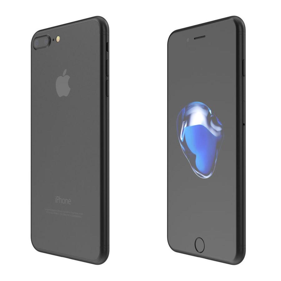 Colección Apple iPhone 7 y 7 Plus All Colors royalty-free modelo 3d - Preview no. 5