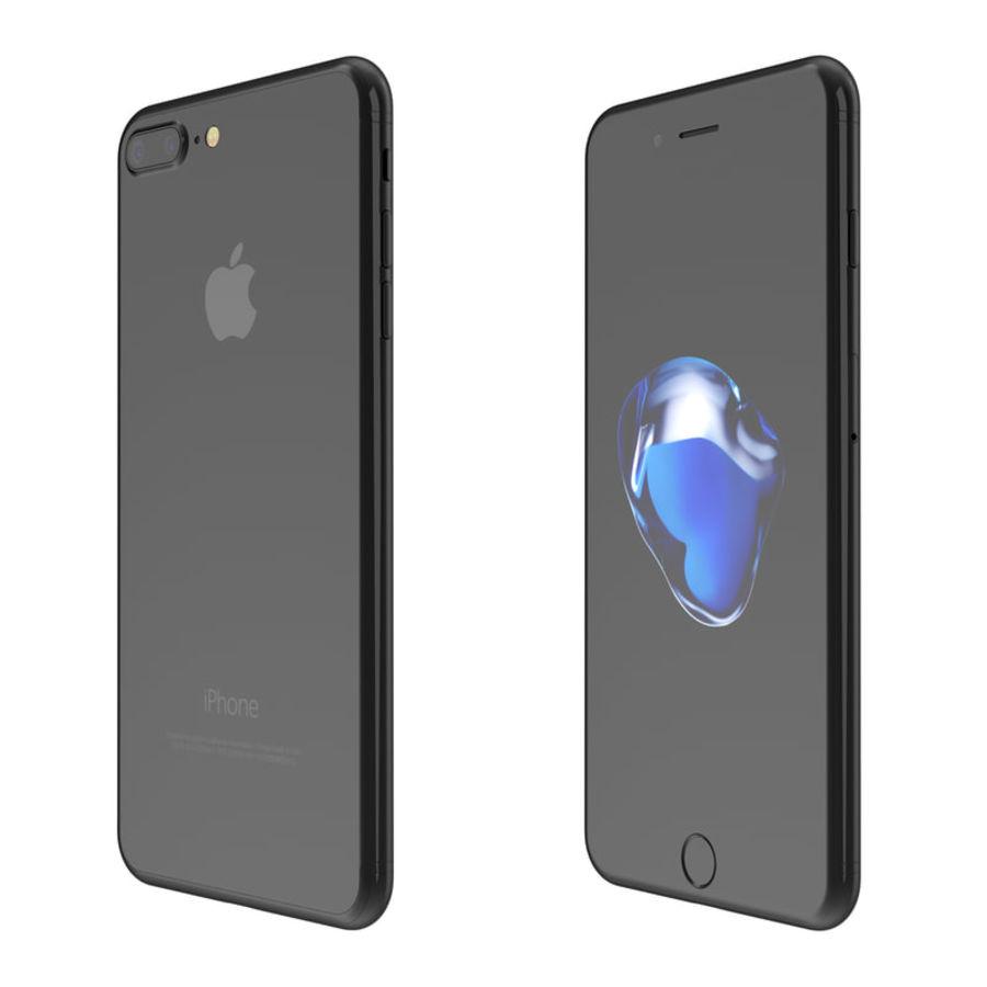 Colección Apple iPhone 7 y 7 Plus All Colors royalty-free modelo 3d - Preview no. 9