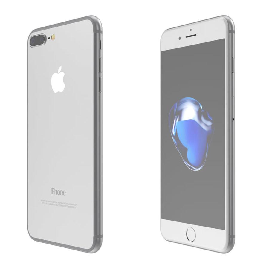 Colección Apple iPhone 7 y 7 Plus All Colors royalty-free modelo 3d - Preview no. 21