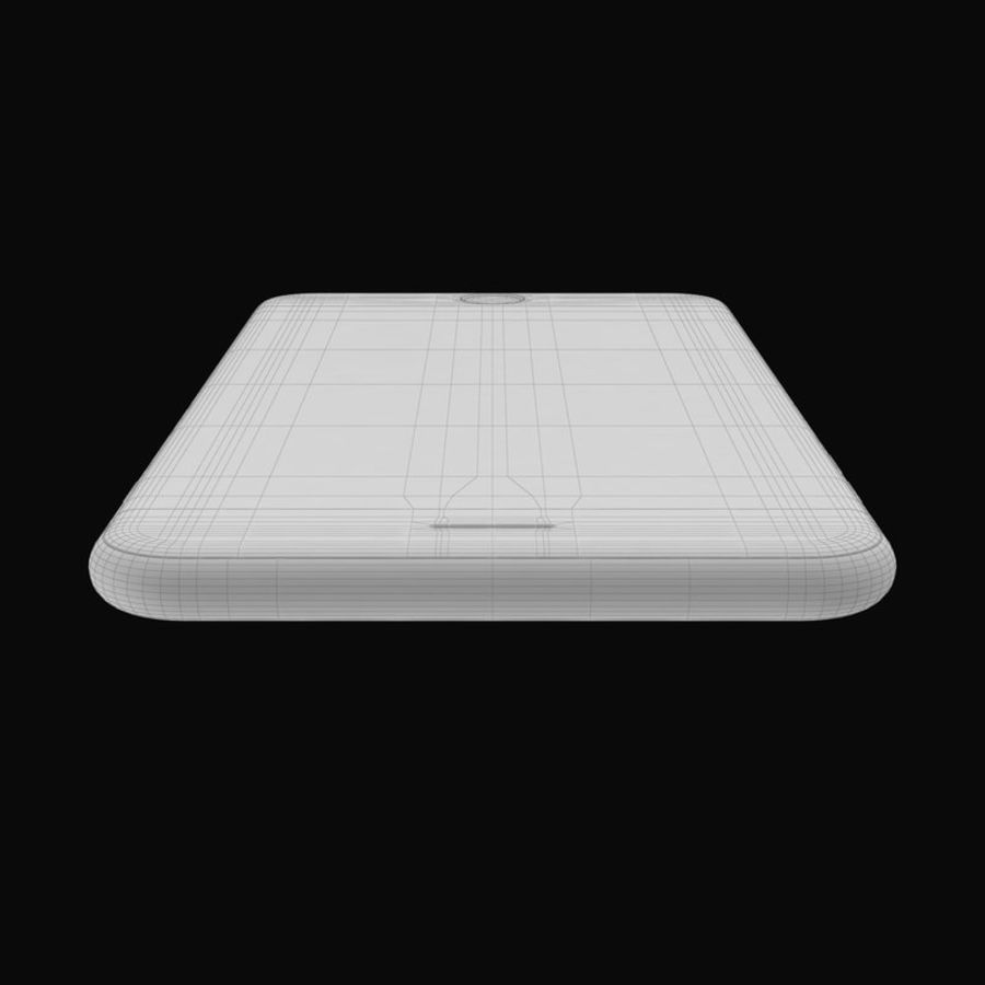 Colección Apple iPhone 7 y 7 Plus All Colors royalty-free modelo 3d - Preview no. 34