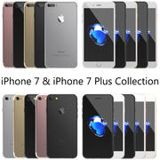 Apple iPhone 7 & 7 Plus All Colors Collection 3d model