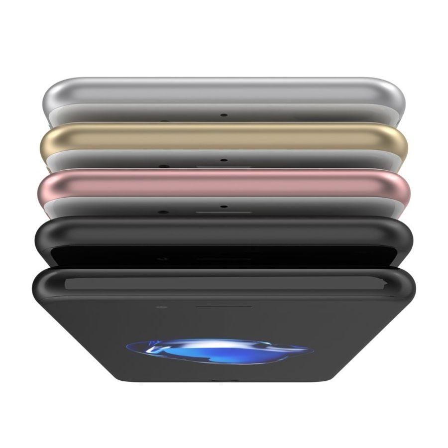 Colección Apple iPhone 7 y 7 Plus All Colors royalty-free modelo 3d - Preview no. 22