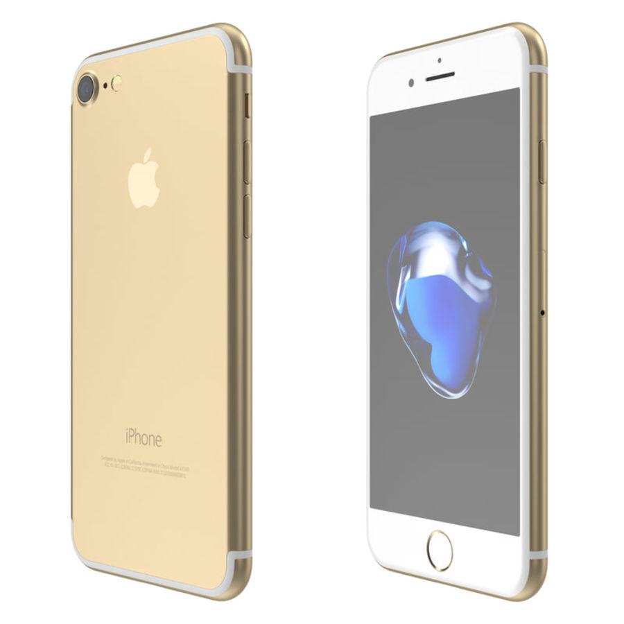 Colección Apple iPhone 7 y 7 Plus All Colors royalty-free modelo 3d - Preview no. 11
