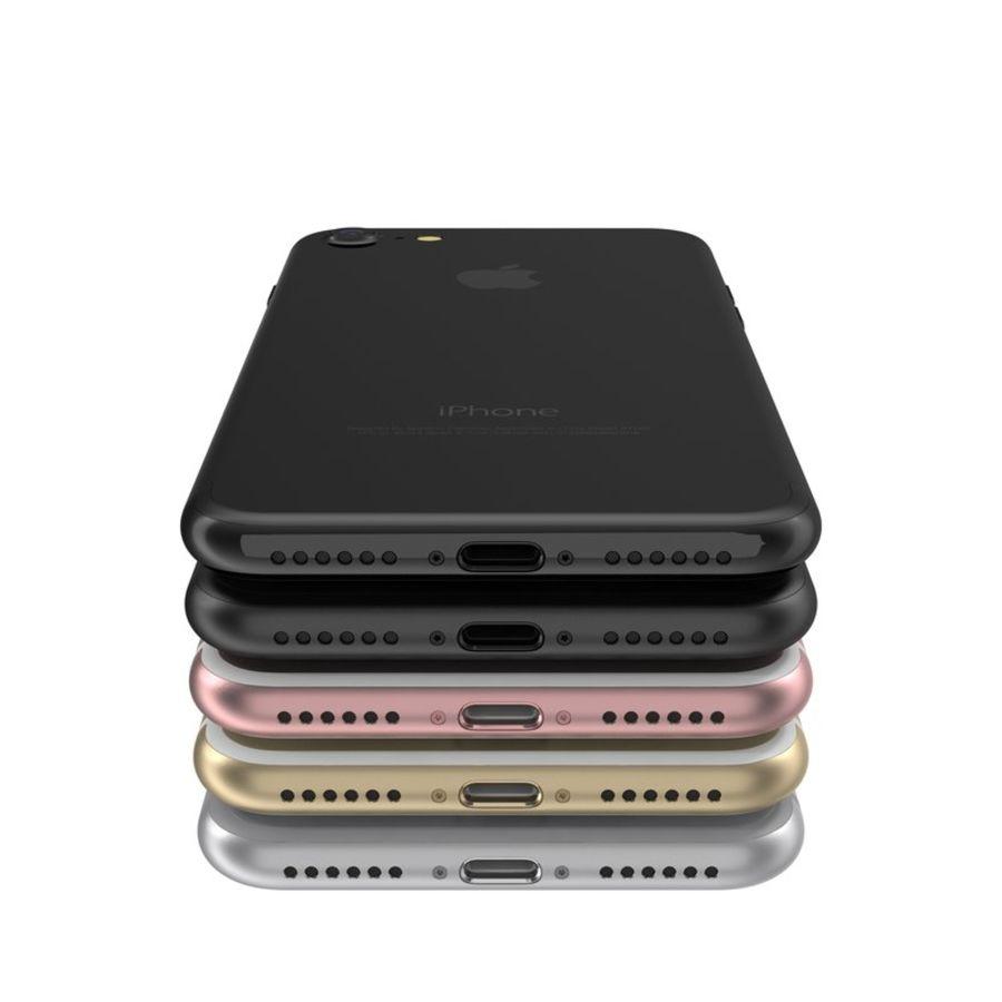 Colección Apple iPhone 7 y 7 Plus All Colors royalty-free modelo 3d - Preview no. 24