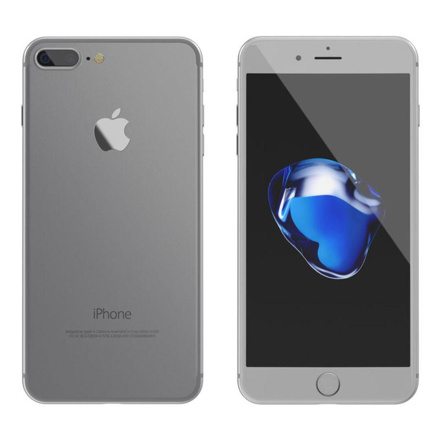 Colección Apple iPhone 7 y 7 Plus All Colors royalty-free modelo 3d - Preview no. 20