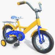 Bicicleta para crianças 01 3d model