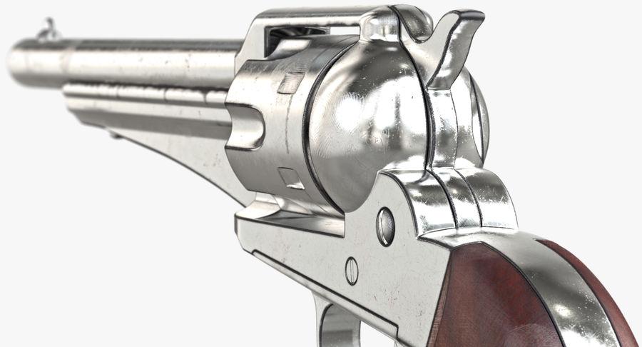 Cowboy Gun royalty-free 3d model - Preview no. 29