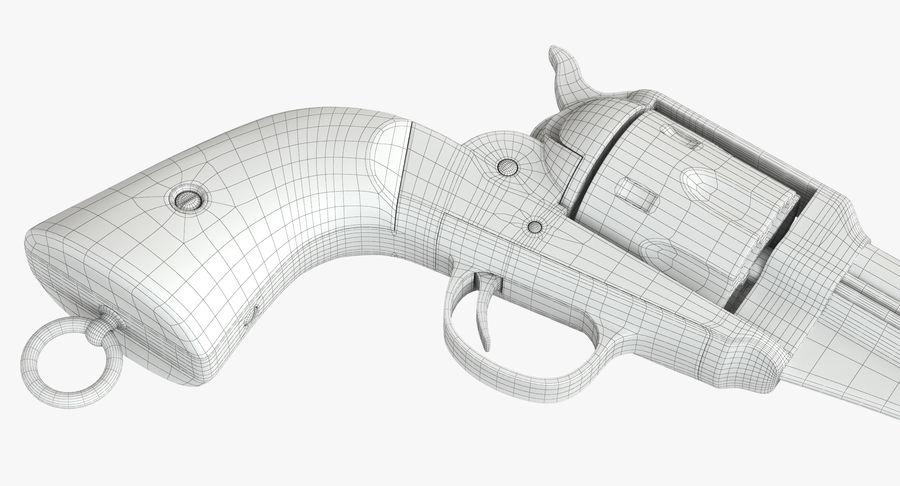 Cowboy Gun royalty-free 3d model - Preview no. 38