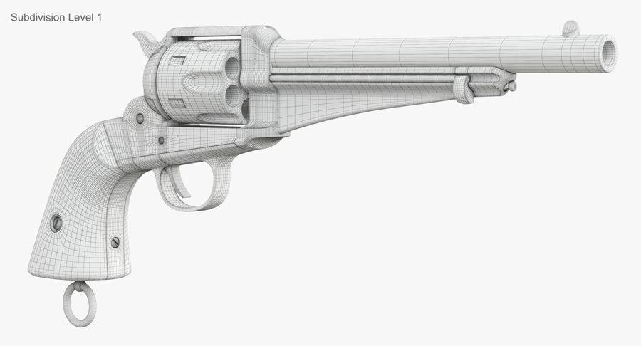Cowboy Gun royalty-free 3d model - Preview no. 41