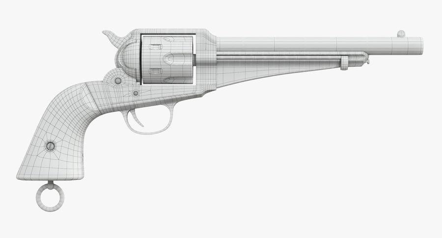 Cowboy Gun royalty-free 3d model - Preview no. 33