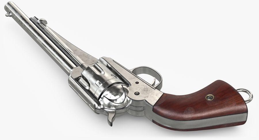 Cowboy Gun royalty-free 3d model - Preview no. 20
