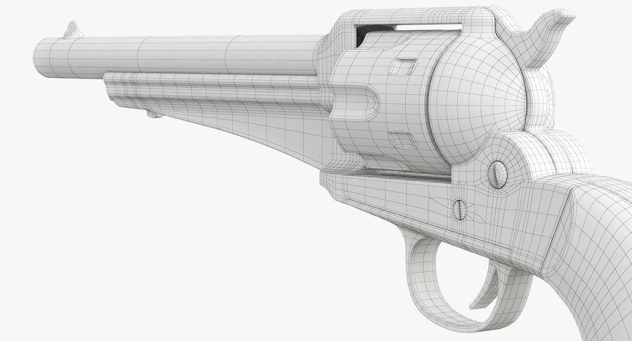 Cowboy Gun royalty-free 3d model - Preview no. 37