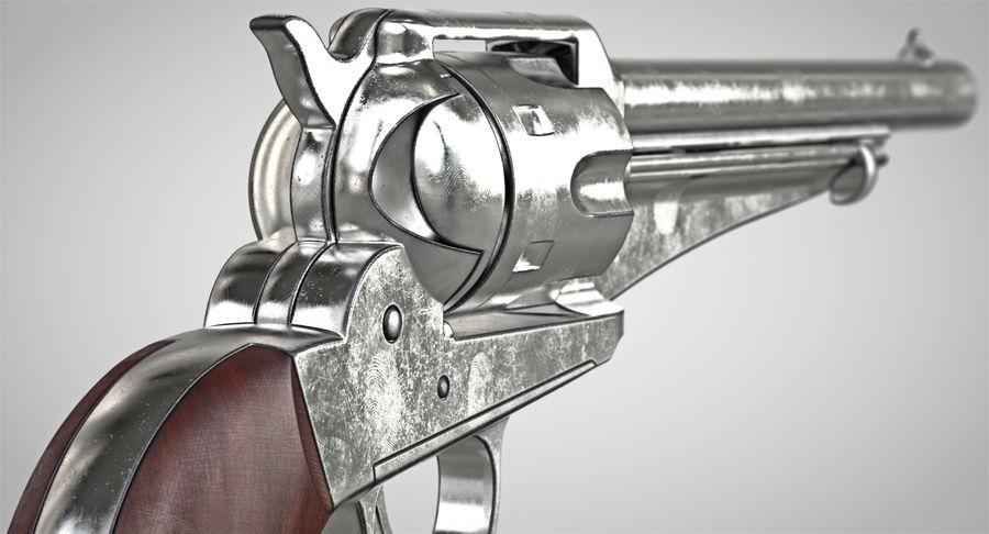 Cowboy Gun royalty-free 3d model - Preview no. 4