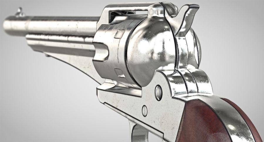 Cowboy Gun royalty-free 3d model - Preview no. 6
