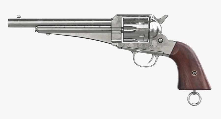 Cowboy Gun royalty-free 3d model - Preview no. 13