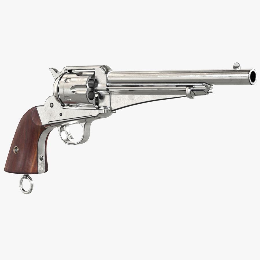 Cowboy Gun royalty-free 3d model - Preview no. 1