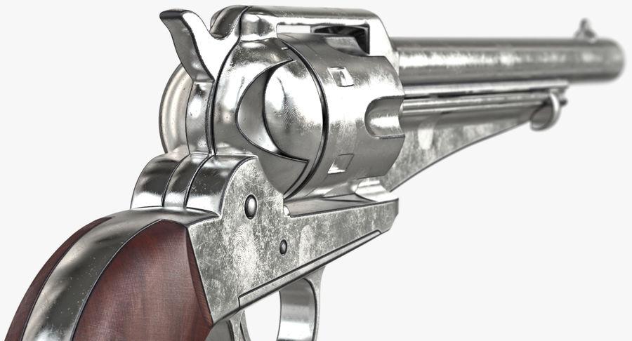 Cowboy Gun royalty-free 3d model - Preview no. 27