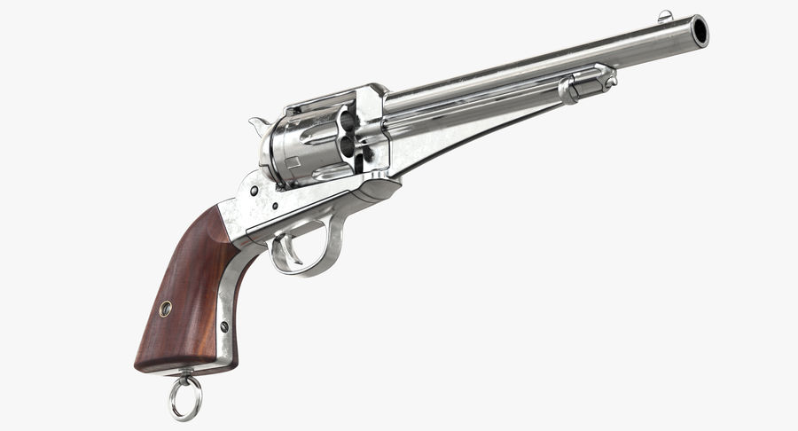 Cowboy Gun royalty-free 3d model - Preview no. 11