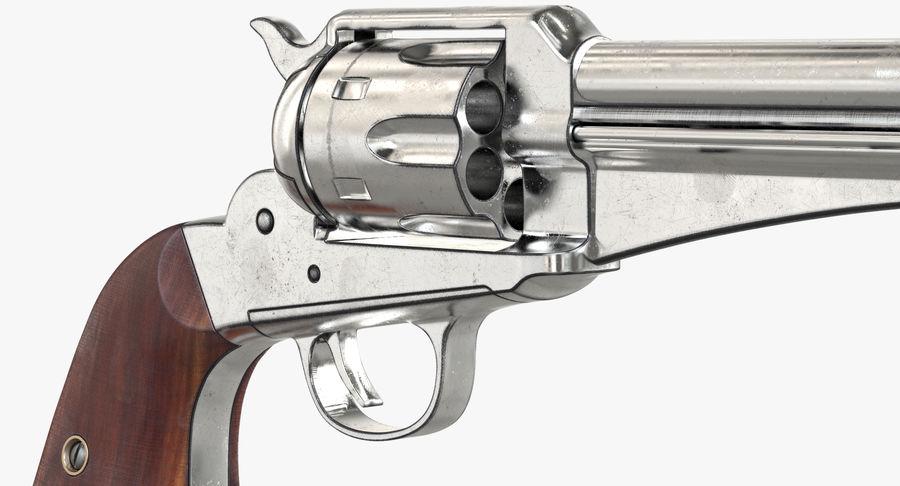 Cowboy Gun royalty-free 3d model - Preview no. 22