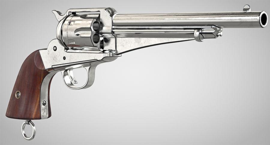 Cowboy Gun royalty-free 3d model - Preview no. 3