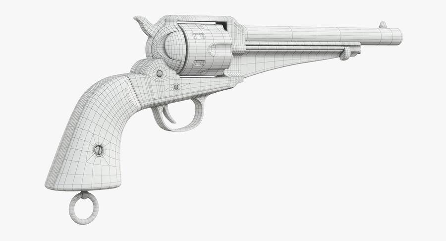 Cowboy Gun royalty-free 3d model - Preview no. 31