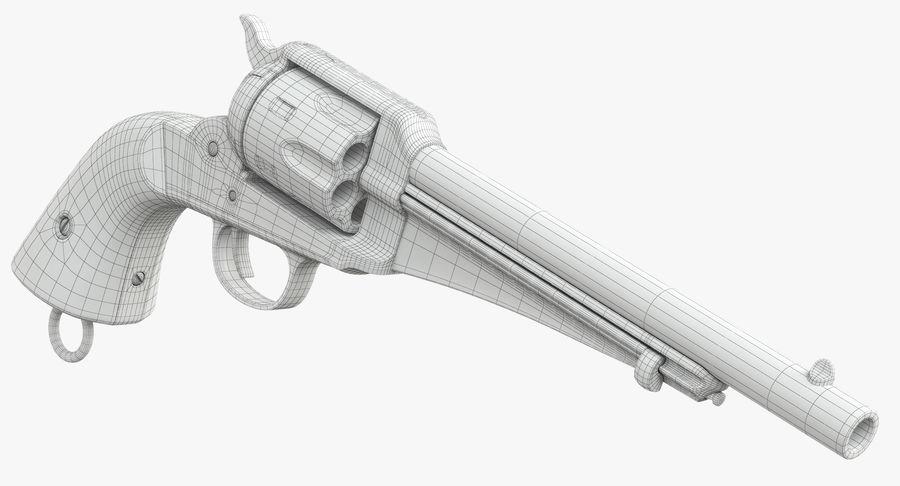 Cowboy Gun royalty-free 3d model - Preview no. 36