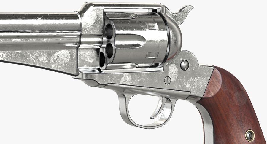 Cowboy Gun royalty-free 3d model - Preview no. 24