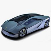 Lamborghini Ganador Concept 3d model
