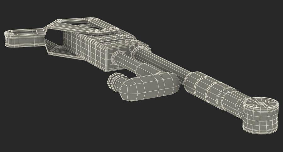 Гидравлические цилиндры с анодированным поршнем 3D-модель Sci-Fi royalty-free 3d model - Preview no. 40