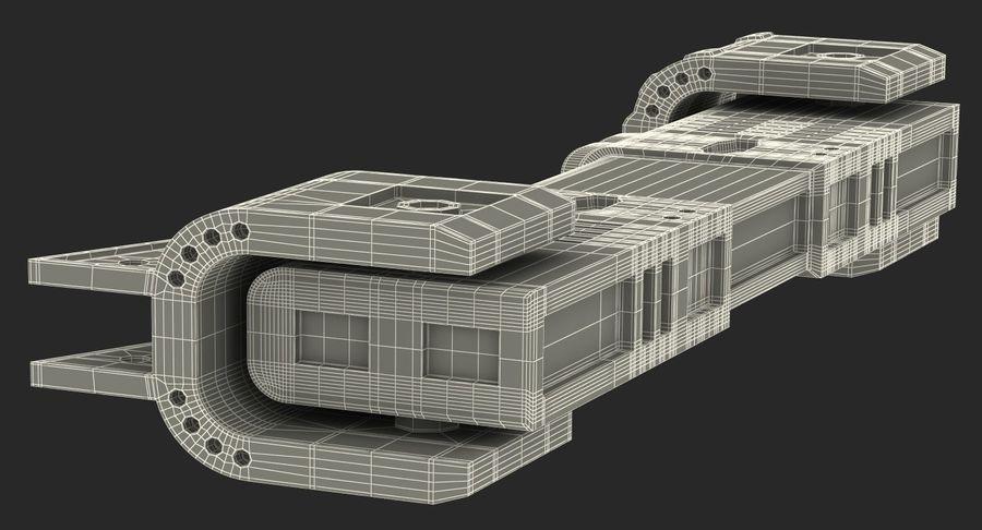 Гидравлические цилиндры с анодированным поршнем 3D-модель Sci-Fi royalty-free 3d model - Preview no. 42