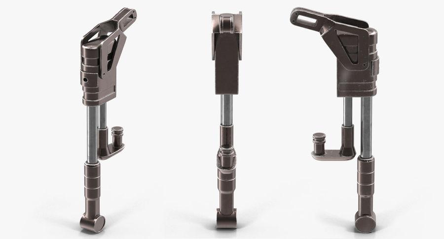 Гидравлические цилиндры с анодированным поршнем 3D-модель Sci-Fi royalty-free 3d model - Preview no. 19