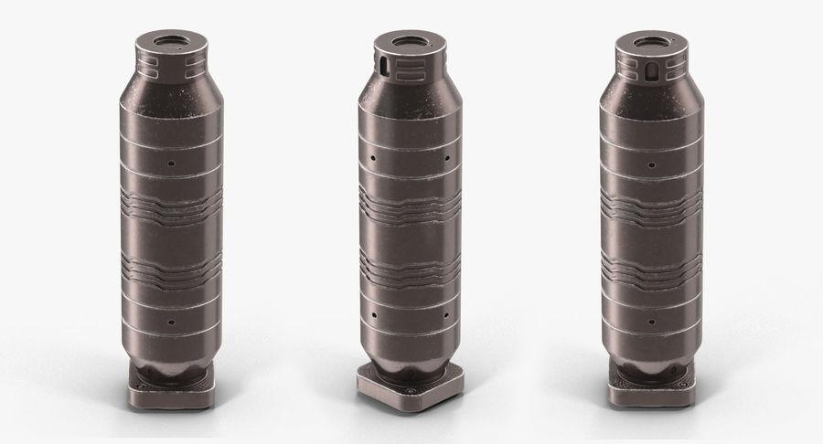Гидравлические цилиндры с анодированным поршнем 3D-модель Sci-Fi royalty-free 3d model - Preview no. 10