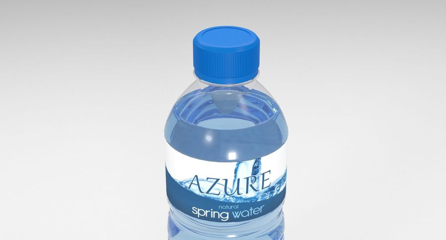 Bottled Water royalty-free 3d model - Preview no. 6