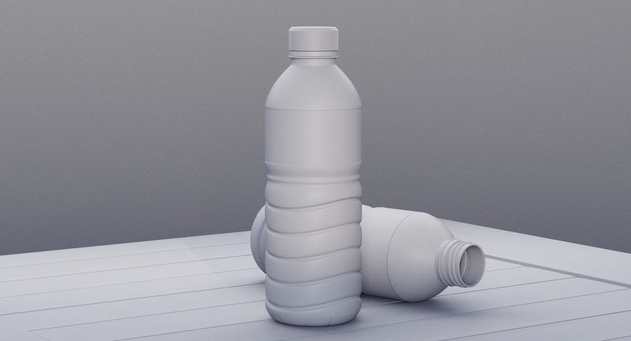 Bottled Water royalty-free 3d model - Preview no. 15