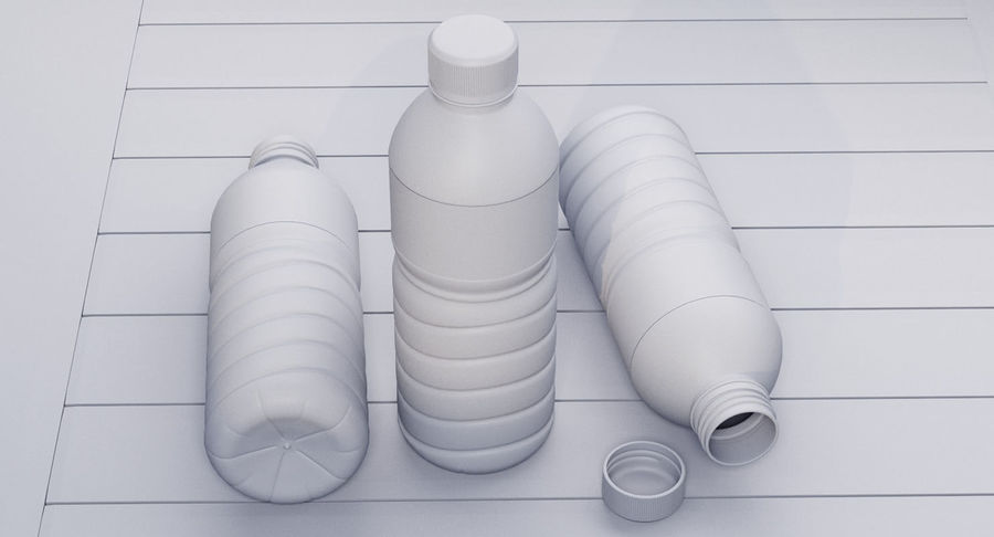Bottled Water royalty-free 3d model - Preview no. 16