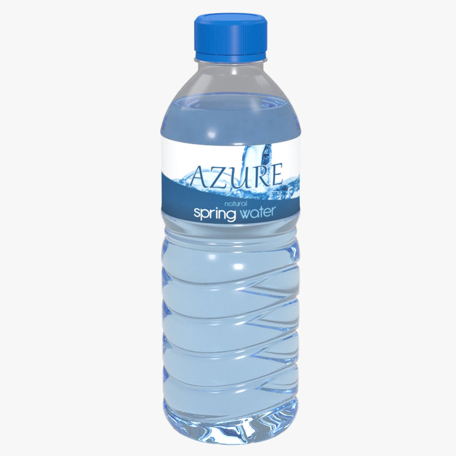 Bottled Water royalty-free 3d model - Preview no. 1