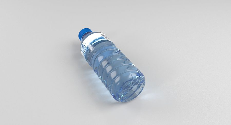 Bottled Water royalty-free 3d model - Preview no. 5