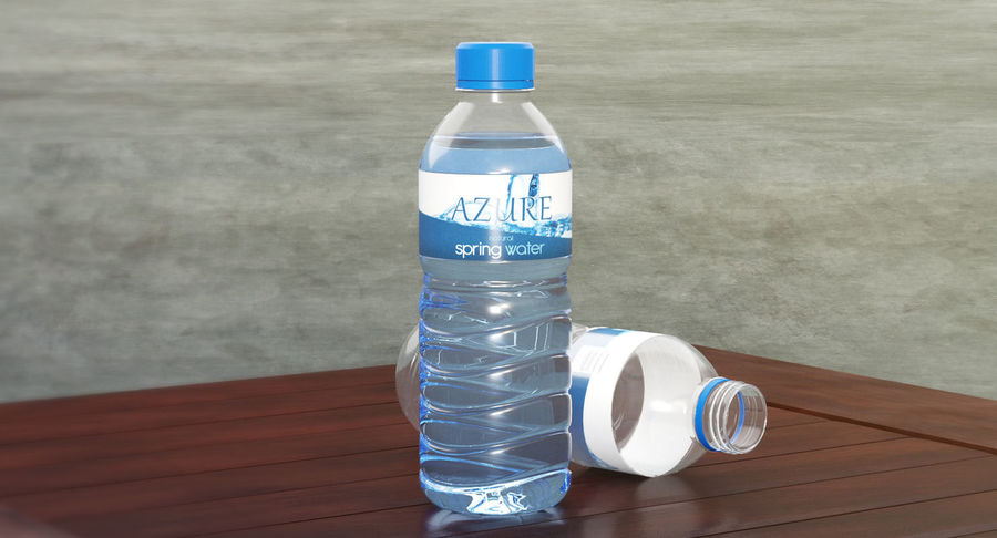 Bottled Water royalty-free 3d model - Preview no. 14