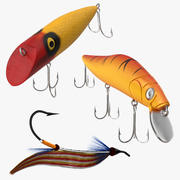 Fishing Lures 3d model